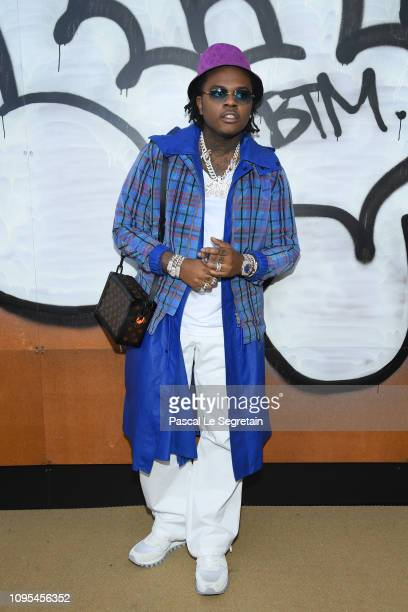 Gunna attends the Louis Vuitton Menswear Fall/Winter 20192020 show as part of Paris Fashion Week on January 17 2019 in Paris France