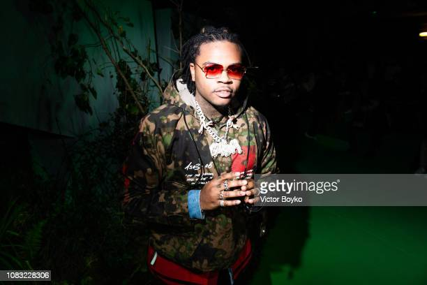 Gunna attends the OffWhite Menswear Fall/Winter 20192020 show as part of Paris Fashion Week on January 16 2019 in Paris France