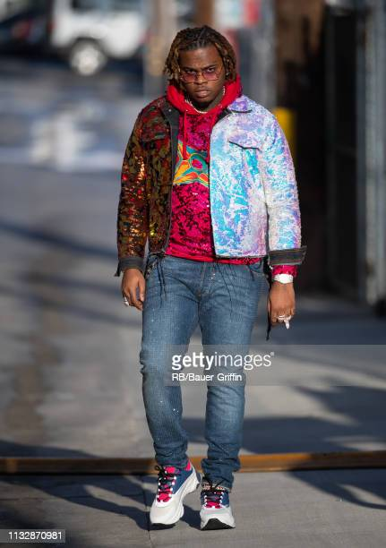 Gunna is seen at 'Jimmy Kimmel Live' on March 25 2019 in Los Angeles California