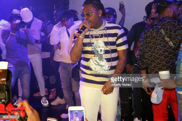 Gunna performs at SOB's on June 7 2018 in New York City