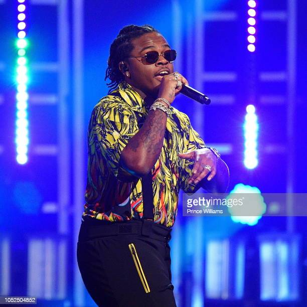 Gunna Performs at the BET Hip Hop Awards 2018 at Fillmore Miami Beach on October 6 2018 in Miami Beach Florida