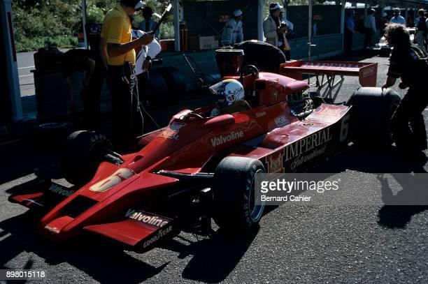 Gunnar Nilsson LotusFord 78 Grand Prix of Japan Fuji Speedway 23 October 1977