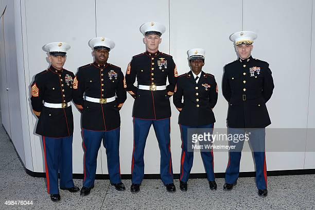 Gunnery Sergeant Charles Gentry, Gunnery Sergeant Dexter Brown, Gunnery Sergeant Jeremy Johnson, Staff Sergeant Alisha M. Johnson, and Lieutenant...