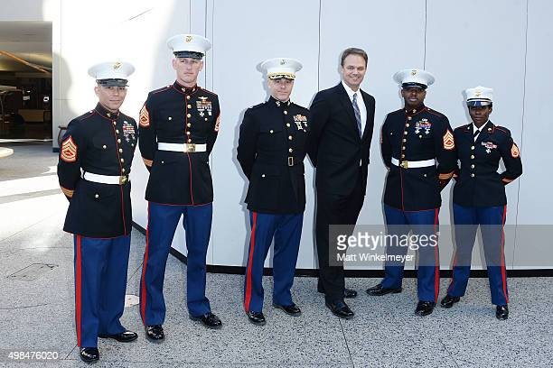 Gunnery Sergeant Charles Gentry, Gunnery Sergeant Jeremy Johnson, Lieutenant Colonel Thomas Kisch, actor/producer James Romanovich, Gunnery Sergeant...