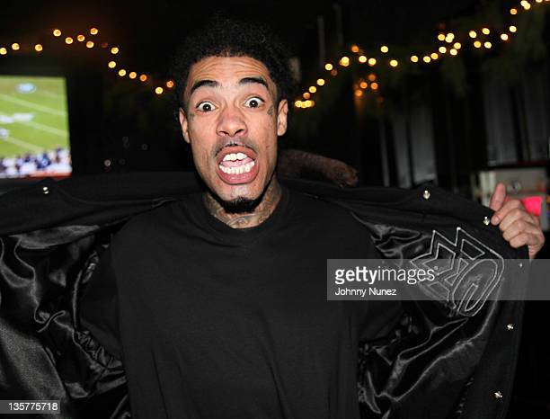 Gunplay of Maybach Music Group visits Sue's Rendezvous on December 13 2011 in Mount Vernon New York