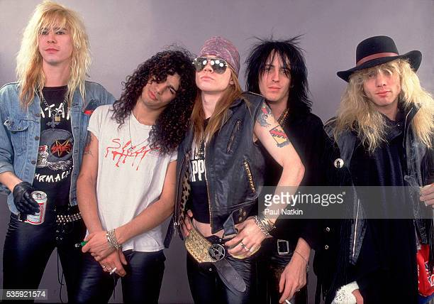 Guns And Roses at the UIC Pavillion in Chicago Illinois August 21 1987