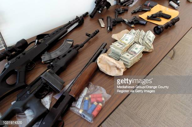 9/29/05 Guns and weapons were part of the loot discovered after the Long Beach Police department busted up a drug deal The LBPD also confiscated...