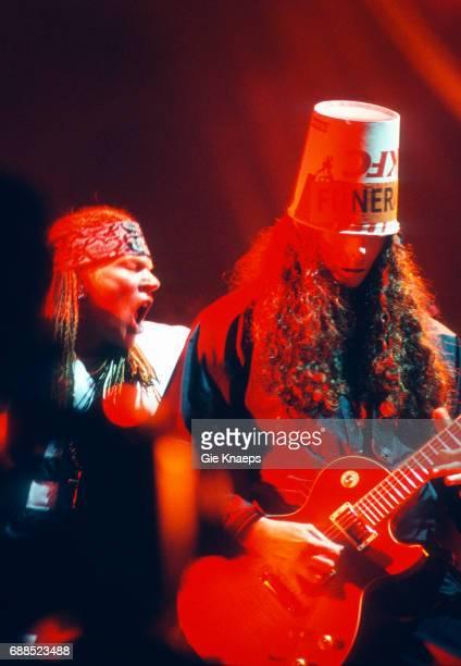 Guns N' Roses Axl Rose Buckethead Pukkelpop Festival Hasselt Belgium