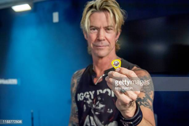 Guns n' Roses bassist Duff McKagan performs with Shooter Jennings at SiriusXM Studios on June 04 2019 in New York City