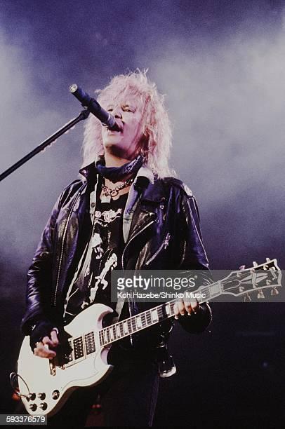Guns N' Roses Duff McKagan live at Nippon Budokan Tokyo January 1994