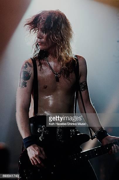 Guns N' Roses Duff McKagan live in USA unknown 1988