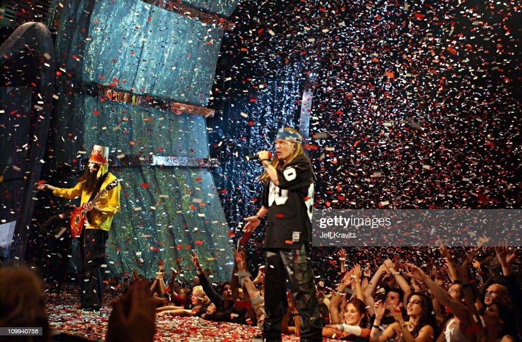 2002 MTV VMA Guns n Roses