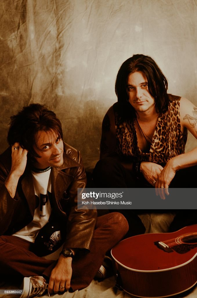 Guns N' Roses in studio photo session, Tokyo, January 1992.