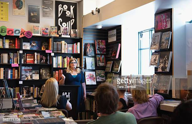 Guns N' Roses original manager/author Vicky Hamilton reads from her memoir Appetite For Dysfunction A Cautionary Tale at Book Soup on July 9 2016 in...