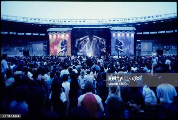 Guns N'Roses concert in Vienna 1993
