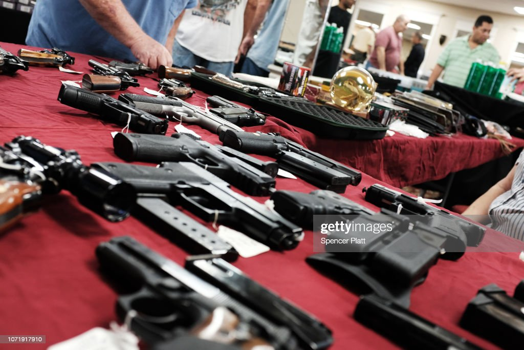 Gun Deaths On The Rise Again U.S. After A Decade Of Declines : News Photo