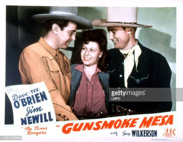 Gunsmoke Mesa lobbycard James Newill Patti McCarty Dave O'Brien 1944