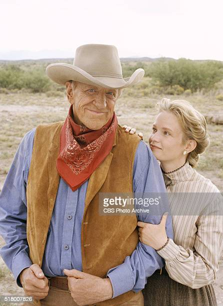 Gunsmoke One Mans Justice a madeforTV movie featuring James Arness and Amy Stoch Image dated September 27 1993 Original broadcast date February 10...