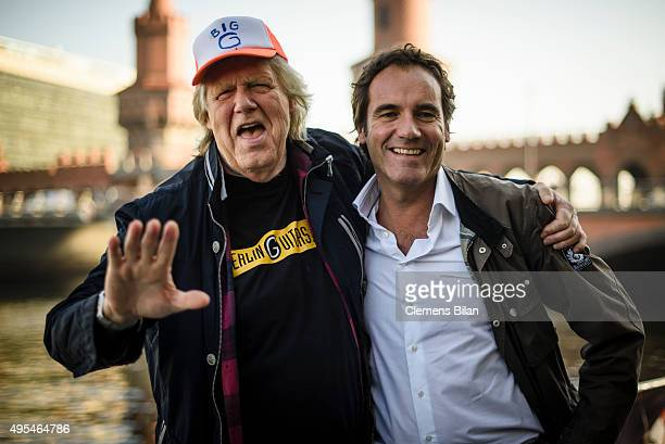 Gunter Gabriel and Thomas Ohrner attend the preview screening of new local production 'Kaept'n Kasi Auf hoher Spree' by German TV channel HISTORY...