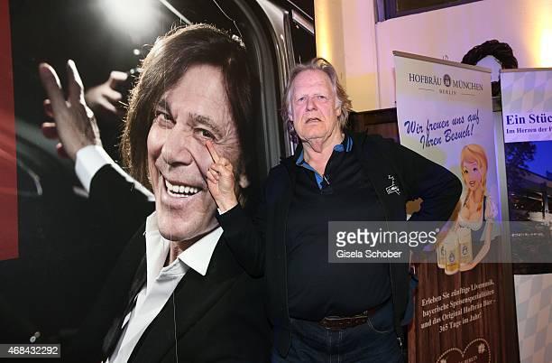 Gunter Gabriel during Juergen Drews' 70th Birthday Party at Hofbraeuhaus on April 02 2015 in Berlin Germany