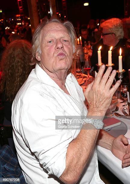 Gunter Gabriel during Ralph Siegel's 70th birthday party at Schuhbeck's Teatro on September 30 2015 in Munich Germany
