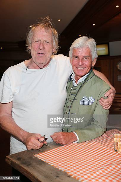 Gunter Gabriel Frederic Meisner during a Bavarian Evening ahead of the Kaiser Cup 2015 on July 10 2015 in Bad Griesbach near Passau Germany