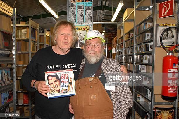 """Gunter Gabriel , Richard Weize , """"Tag der offenen Tür"""" mit G.Gabriel-Konzert """"Bear Family Records"""" , Holste bei Oldendorf, Niedersachsen,..."""