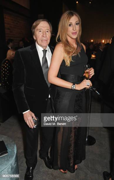 Gunter Netzer and Alana Netzer attend the IWC Schaffhausen Gala celebrating the Maison's 150th anniversary and the launch of its Jubilee Collection...