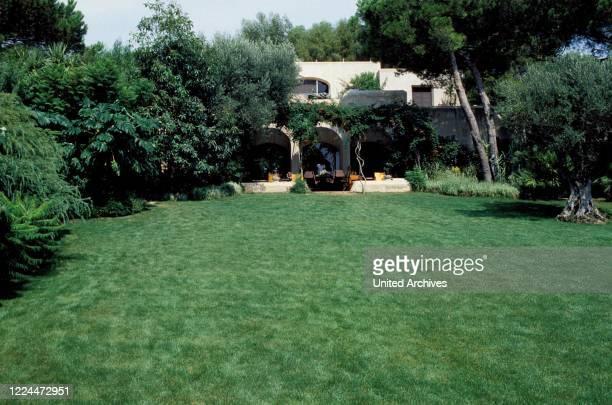 Gunter Sachs estate in Sankt Tropez, France 2004.