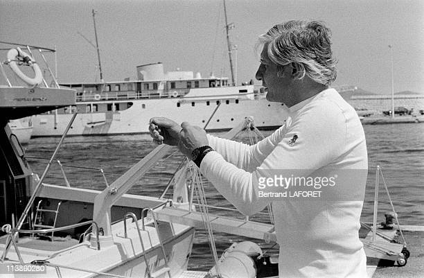 Gunter Sachs goes to SaintTropez every year where he naturally enjoys the pleasure of Yachting July 12 1979