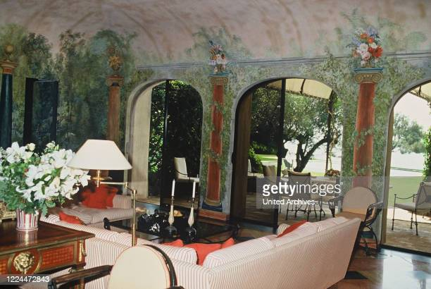 Gunter Sachs Interior of one of his many houses and rooms 2000s