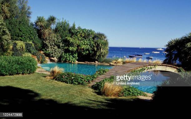 Gunter Sachs View from the estate in Sankt Tropez, France 2004.