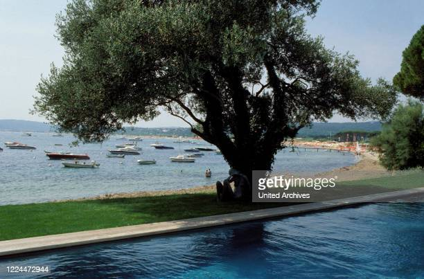 Gunter Sachs View from the estate in Sankt Tropez France 2004