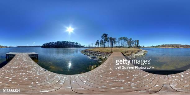 guntersville lake park - 全天周パノラマ ストックフォトと画像