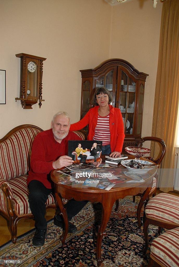 Gunther Emmerlich Mit Foto Mit Wolfgang Stumph Ehefrau Anne K