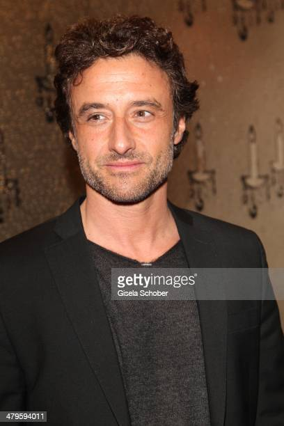 Gunther Gillian attends the NDF After Work Presse Cocktail at Parkcafe on March 19 2014 in Munich Germany