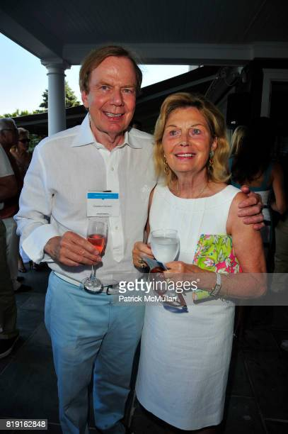 Gunther Grenier and Renata Grenier attend Summer Reception in Southampton for New YorkPresbyterian Hospital hosted by Heather and Steven Mnuchin and...