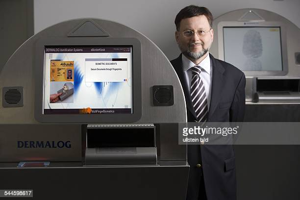 Gunther Mull Geschäftsführer von Dermalog Identification Systems