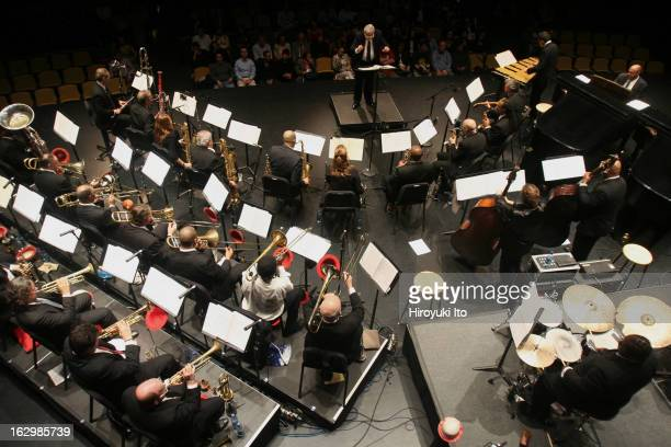 Gunther Schuller conducts Charles Mingus's 'Epitaph' at Rose Theater on Wednesday night April 25 2007