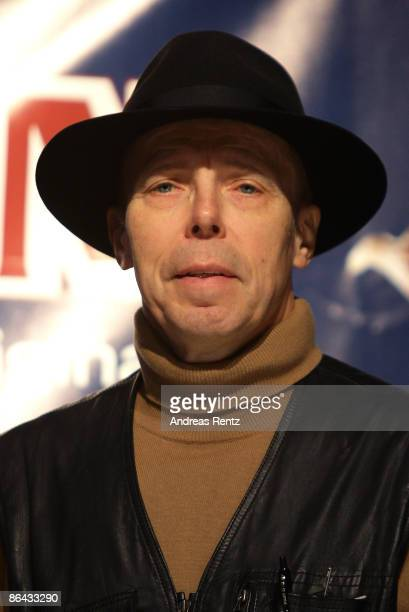 Gunther von Hagens looks on during a press conference at the 'Body Worlds', the anatomical exhibition of real human bodies by Gunther von Hagens at...