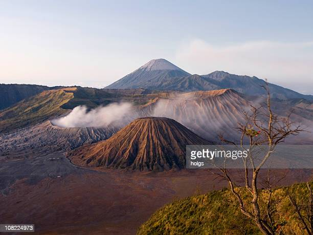 gunung bromo volcano indonesia - mt bromo stock photos and pictures