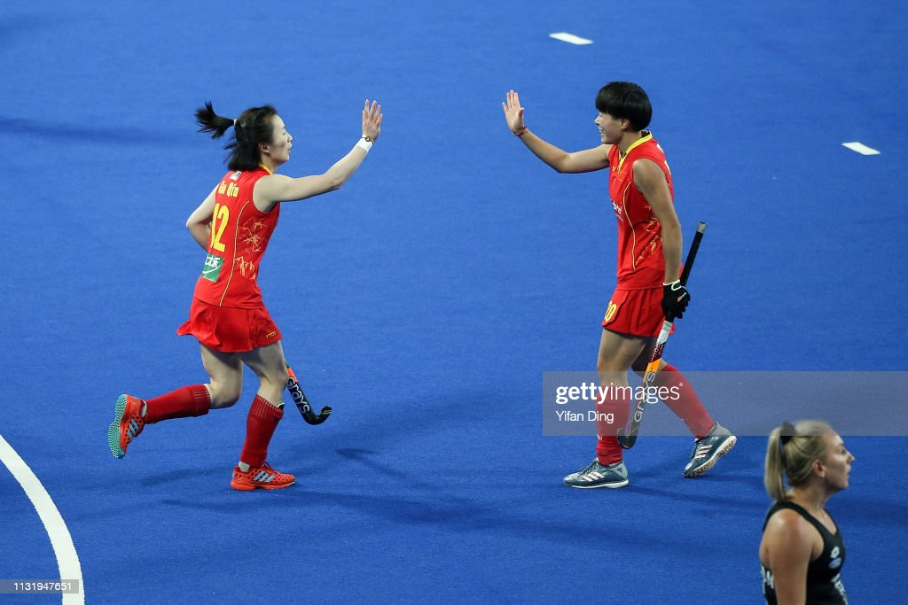 CHN: China v New Zealand - Women's FIH Field Hockey Pro League