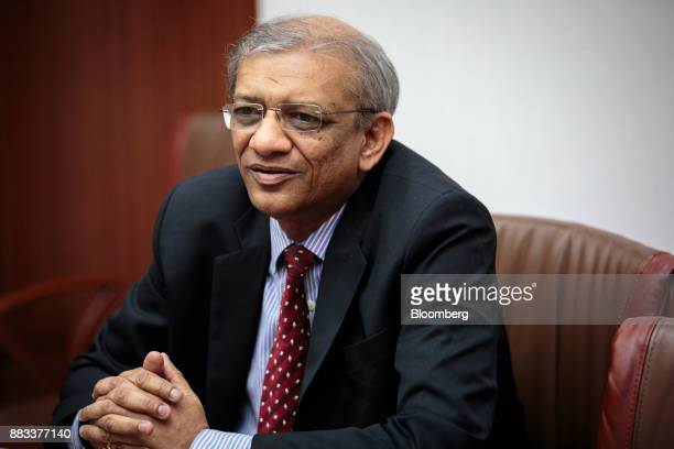 P K Gupta managing director at State Bank of India speaks during an interview in Mumbai India on Thursday Nov 16 2017 Moves to sort out India's $207...