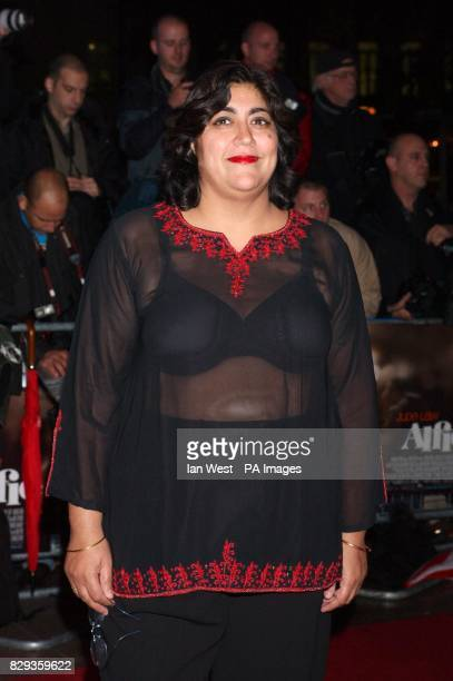 Gurinder Chadha arrive for the world charity premiere of Alfie at the Empire Leicester Square in central London in aid of MakeAWish foundation