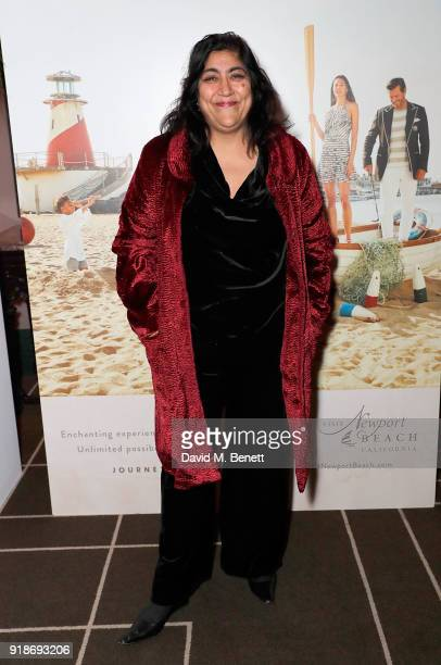Gurinder Chadha attends the Newport Beach Film Festival UK Honours in association with Visit Newport Beach at The Rosewood Hotel on February 15 2018...