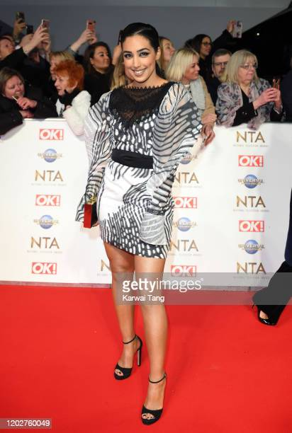 Gurlaine Kaur Garcha attends the National Television Awards 2020 at The O2 Arena on January 28 2020 in London England