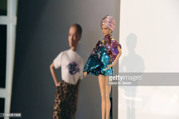Gurls Talk x Barbie event hosted by Adwoa Aboah celebrating their collaboration at Dover Street Market on March 06 2019 in London England