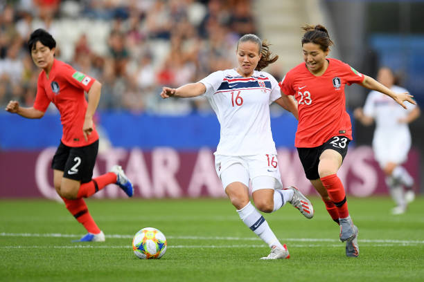 FRA: Korea Republic v Norway: Group A - 2019 FIFA Women's World Cup France