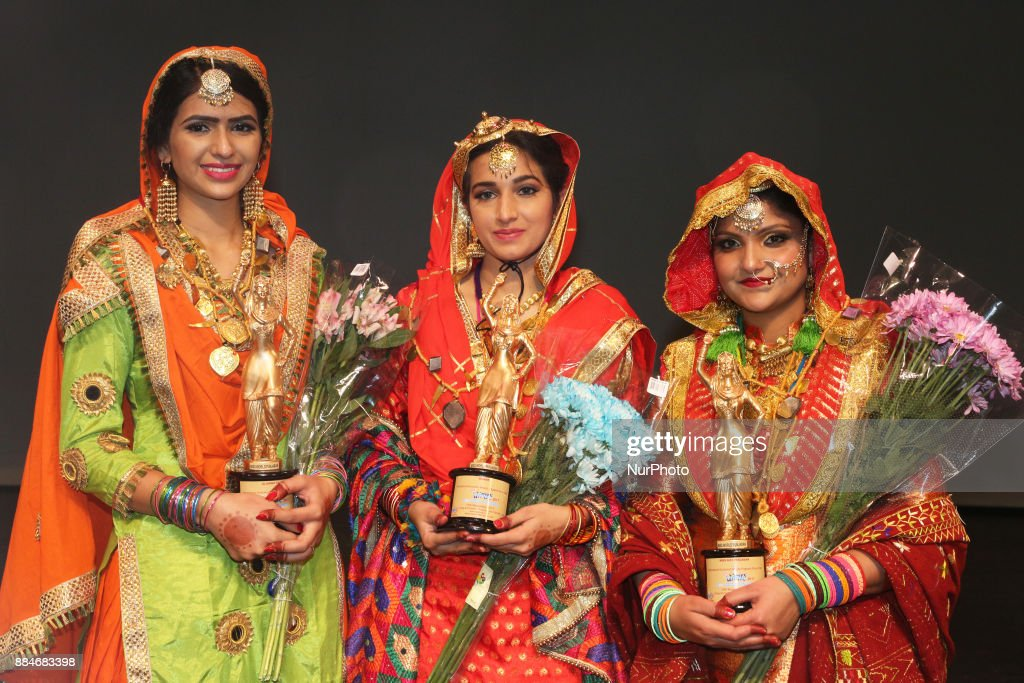 Gurpreet Kaur winner of the titles Miss World Punjaban and Miss Haryana Punjaban during the Miss World Punjaban beauty pageant held in Mississauga...