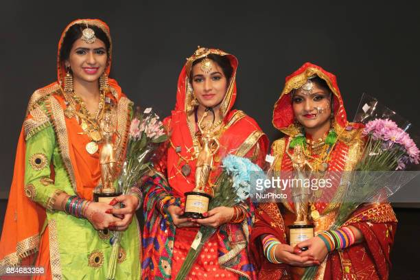 Gurpreet Kaur winner of the titles Miss World Punjaban and Miss Haryana Punjaban during the Miss World Punjaban beauty pageant held in Mississauga...